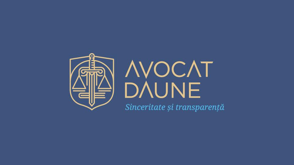 Avocat Daune Logo Design