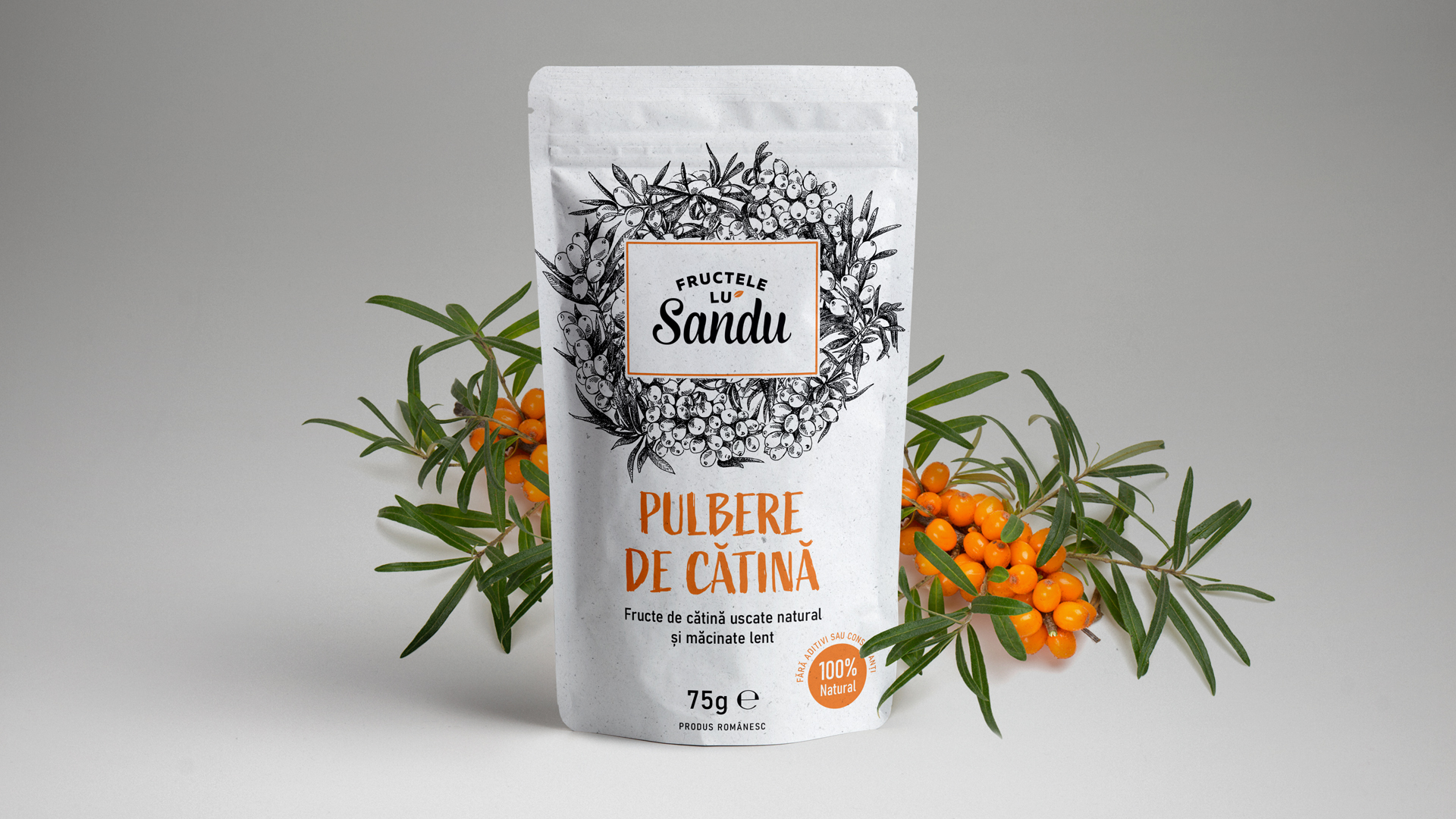 Sea Buckthorn Powder Packaging