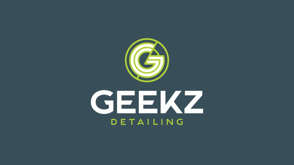 Geekz Detailing Logo Design