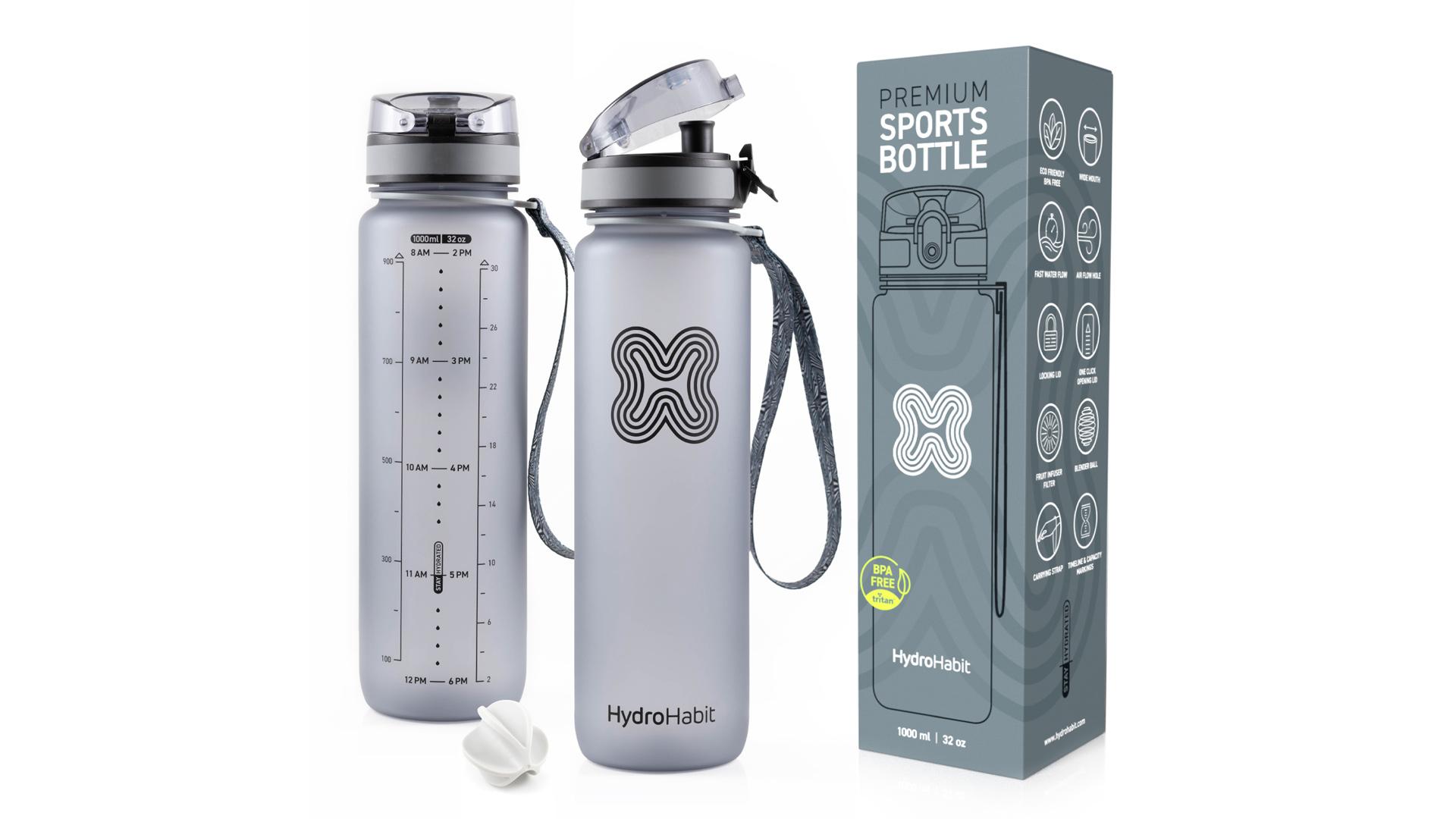 Hydro Habit - Premium Sports Bottle