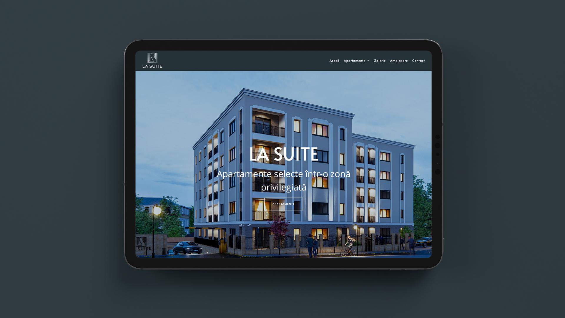 La Suite - website de prezentare