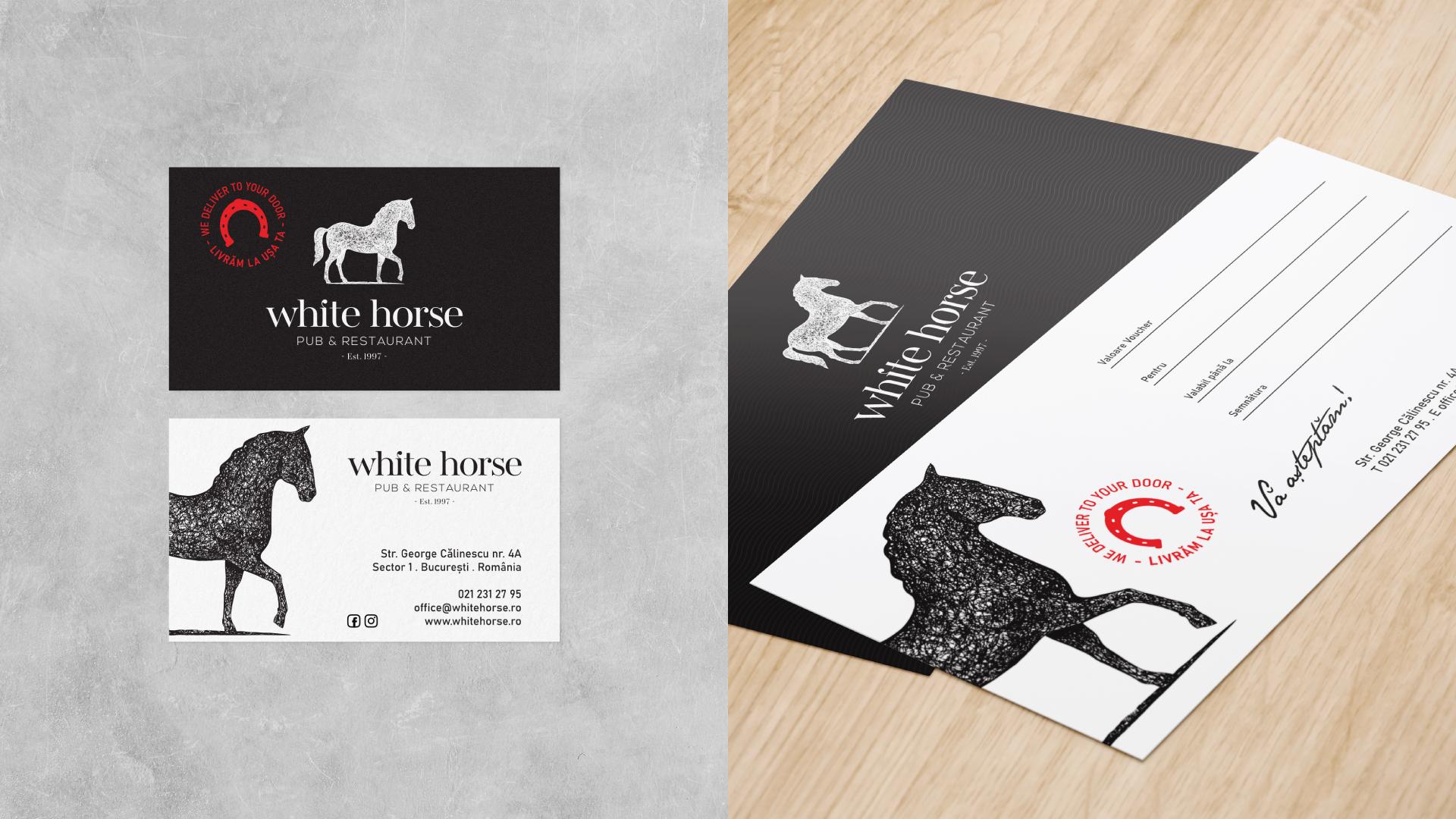 Pillow Design - White Horse Restaurant