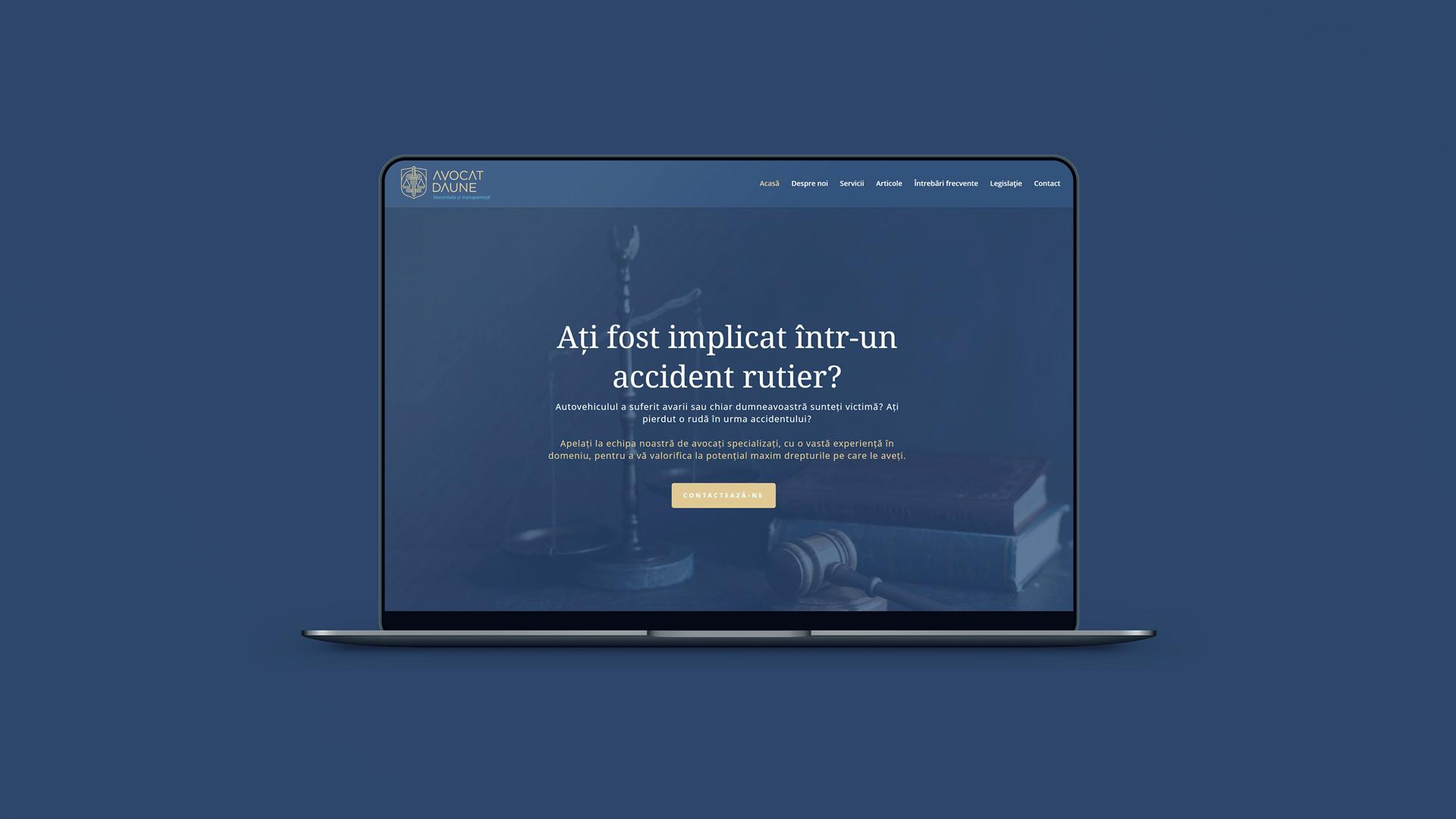 Avocat Daune - Web Design